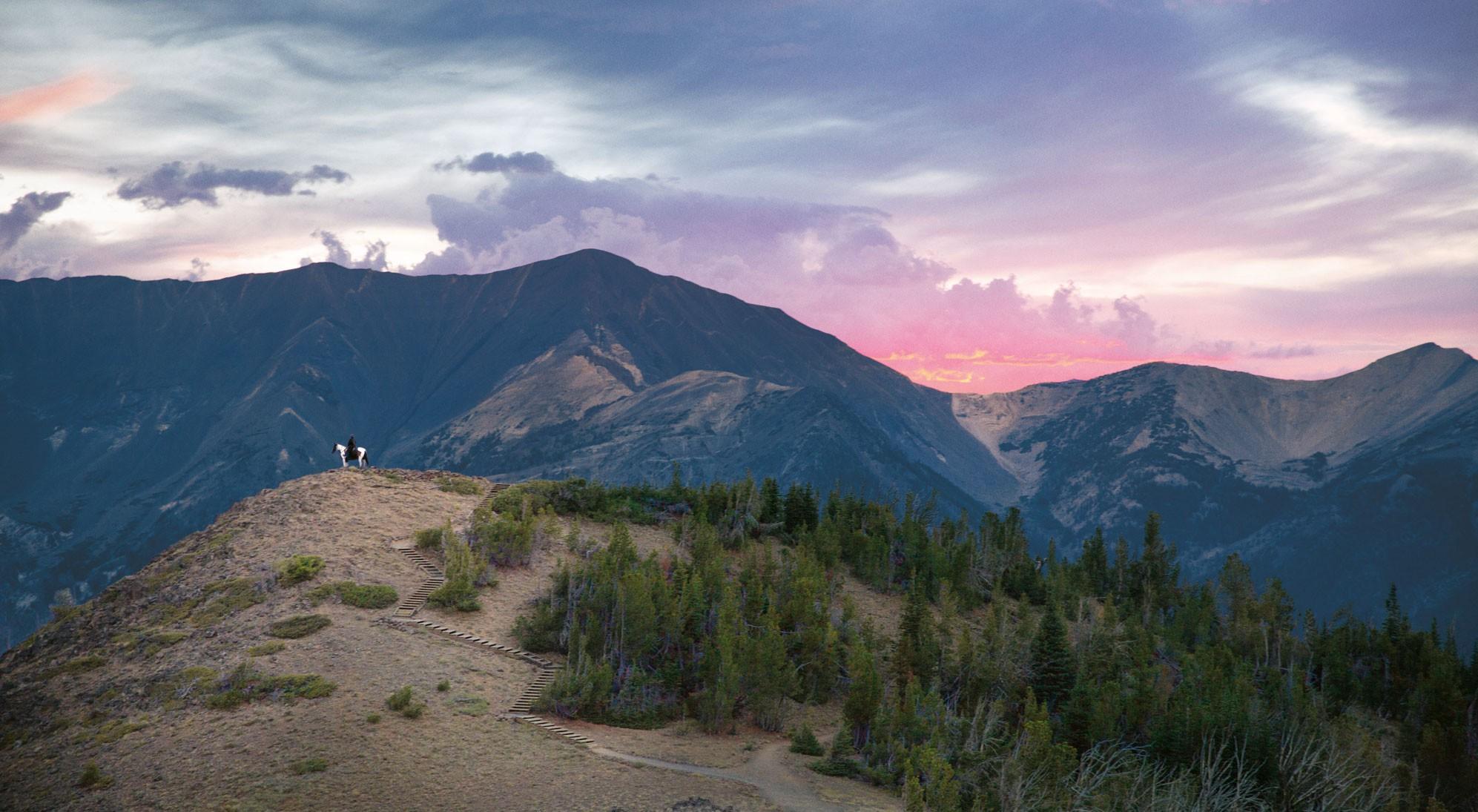 Mt. Howard summit in the Wallowa Mountains