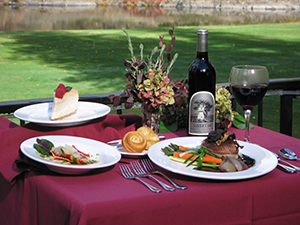 Dining at Morrison's Rogue River Lodge