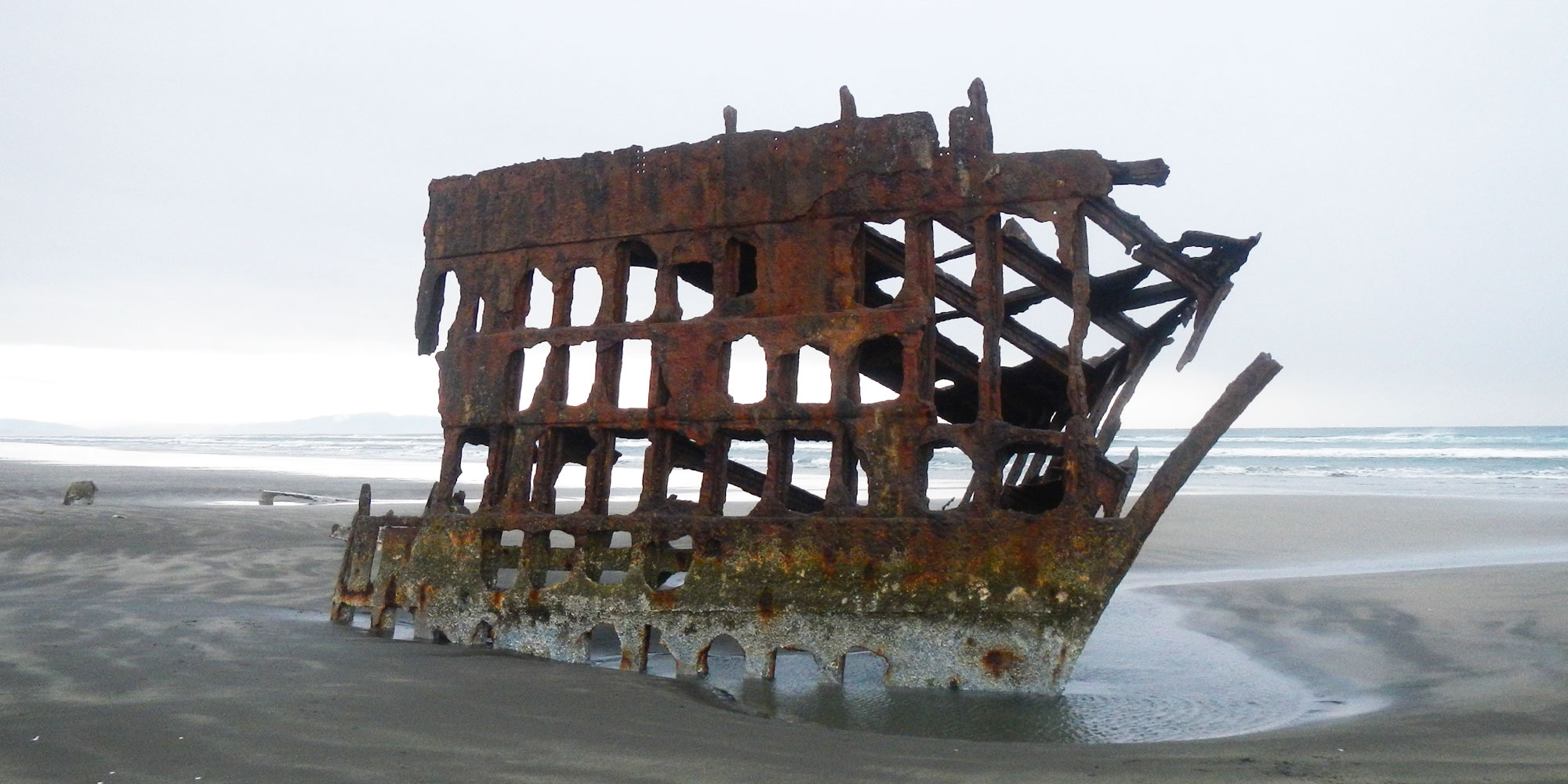 Shipwreck of Peter Iredale