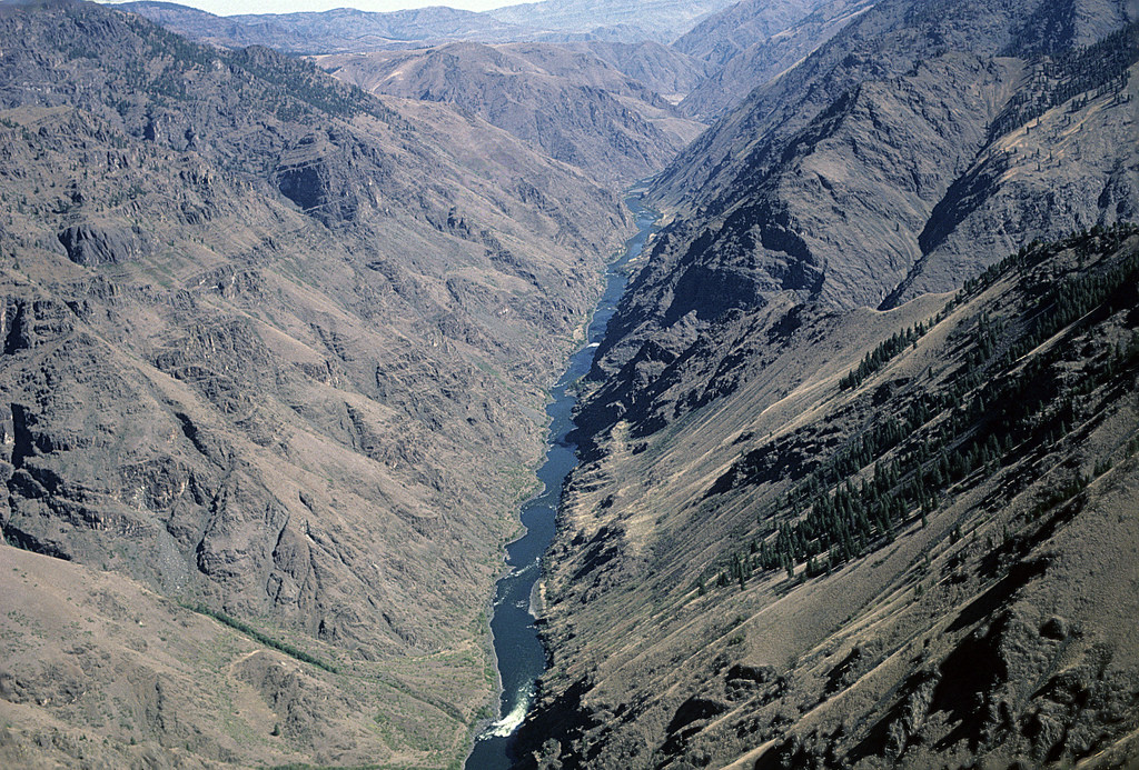 View of Hells Canyon and Snake River