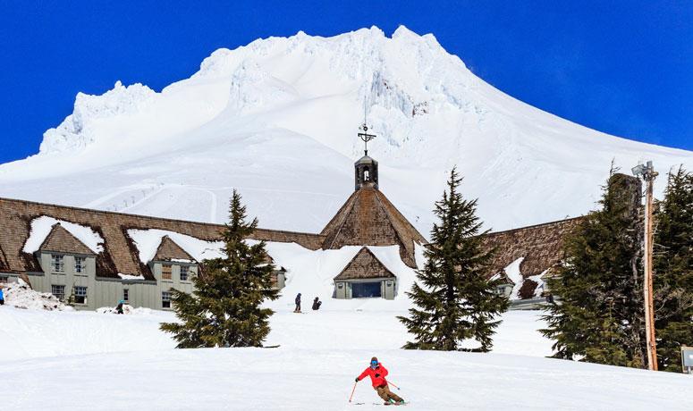 Courtesy of Timberline Lodge & Ski Area