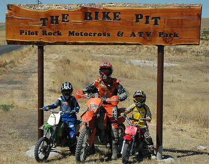 Pilot Rock is home to The Bike Pit