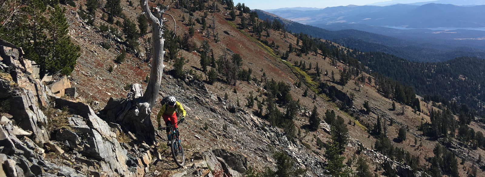 Riding the Elkhorn Crest Trail