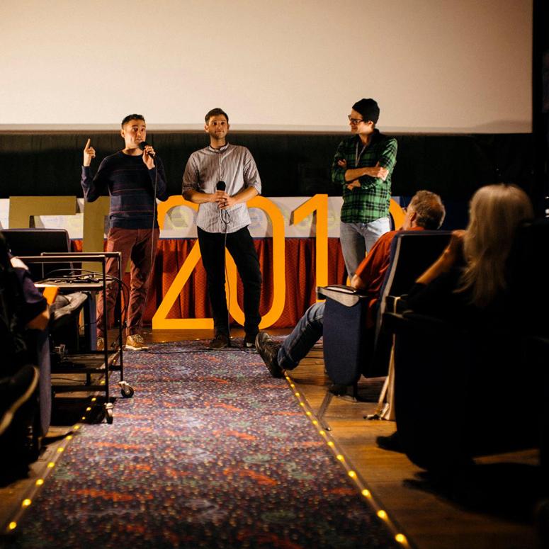 Director Erik Bloomquist at 2018's EOFF