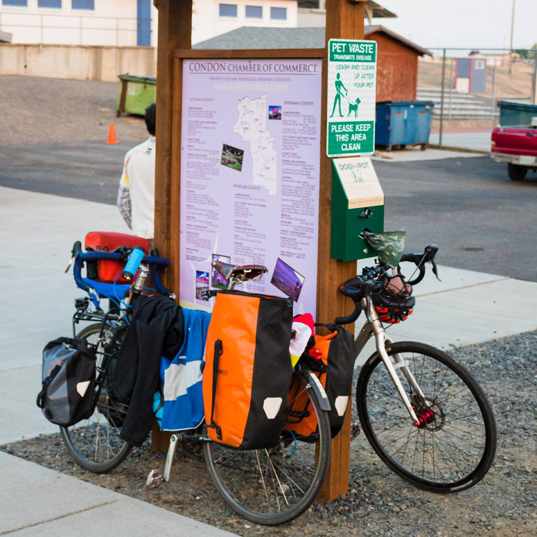 Condon Chamber offers bike friendly amenities