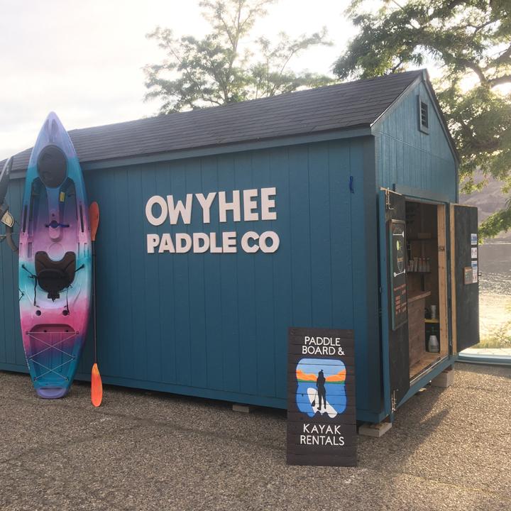 Visit Owyhee Paddle Co. at Lake Owyhee State Park