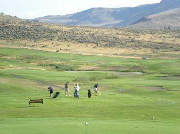 Golfing at Buffalo Peak