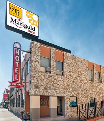 The Marigold Hotel Exterior