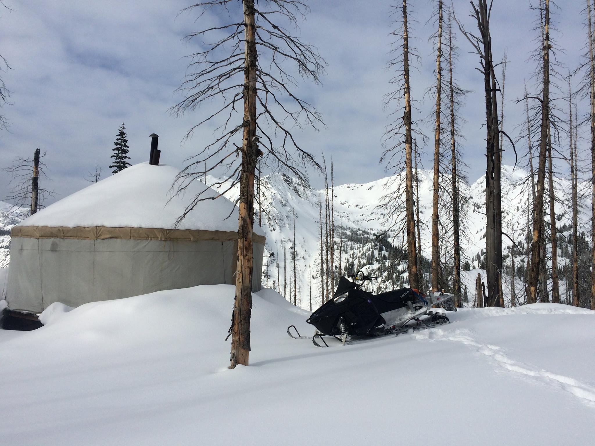 Wallowa Alpine Huts Yurt