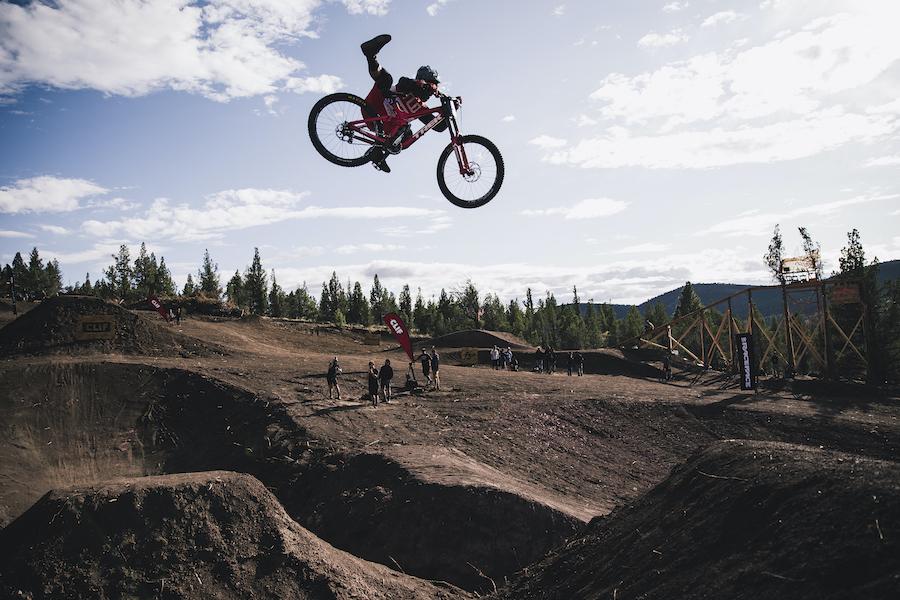 Freeride biking, mountain biking