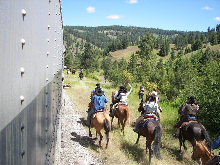 Eagle Cap Excursion Train Bank Robery