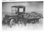 Gilliam Co Historic Museum 1st Grain Truck