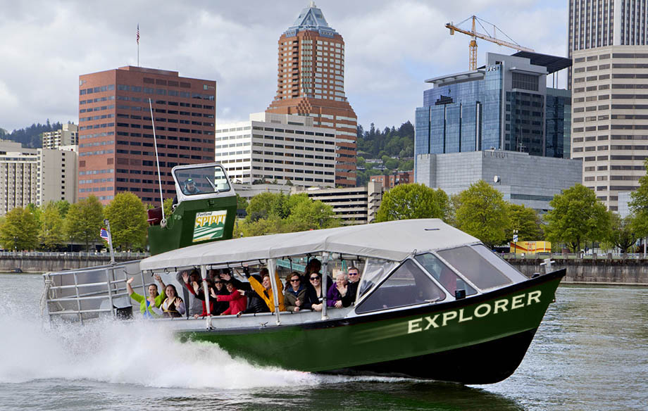 Portland Spirit Tours on The Explorer