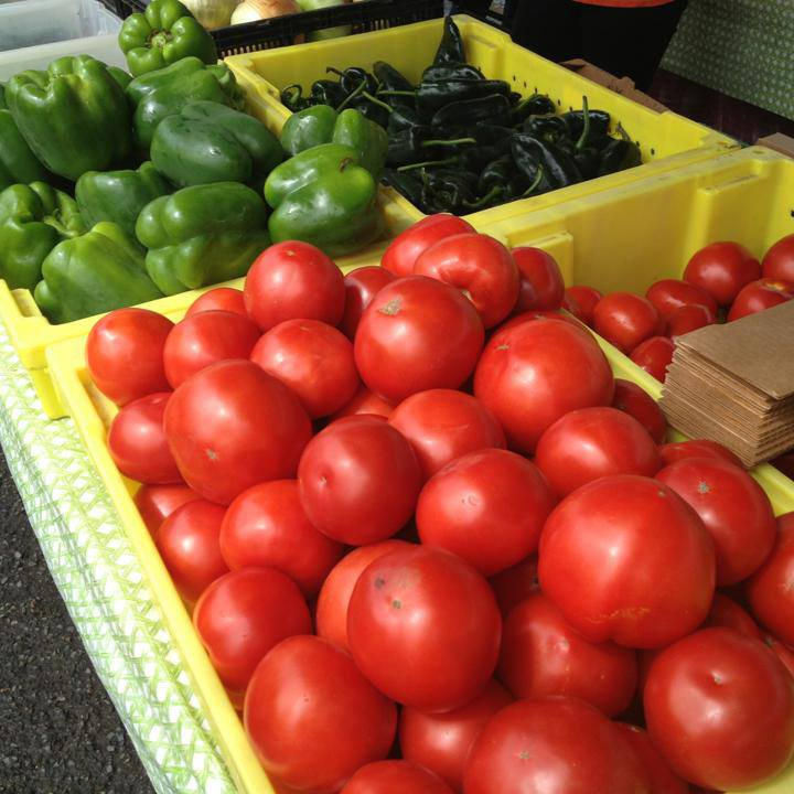 Photo of vegetables at outdoor market