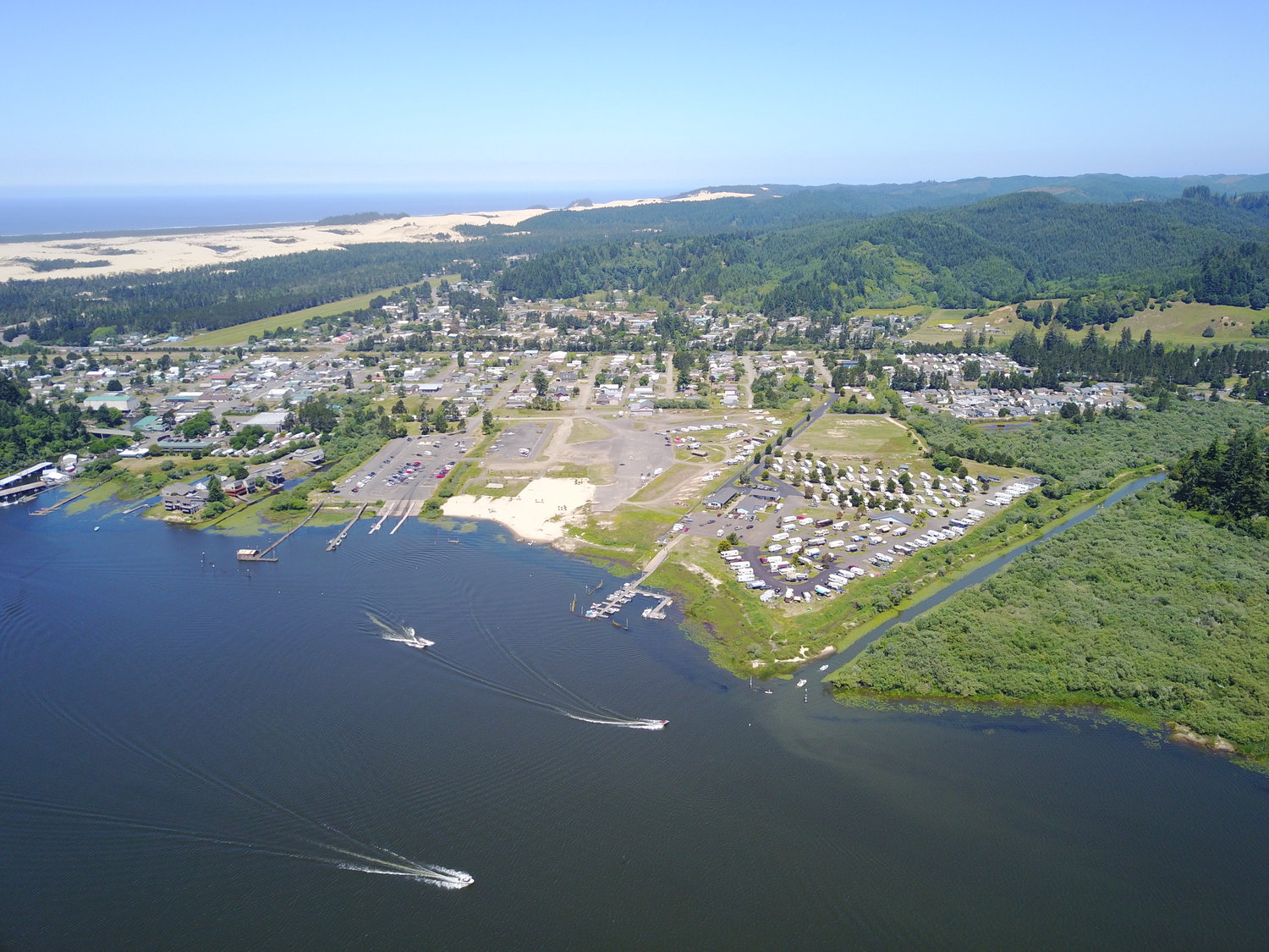 Aerial View of Osprey Point RV Resort