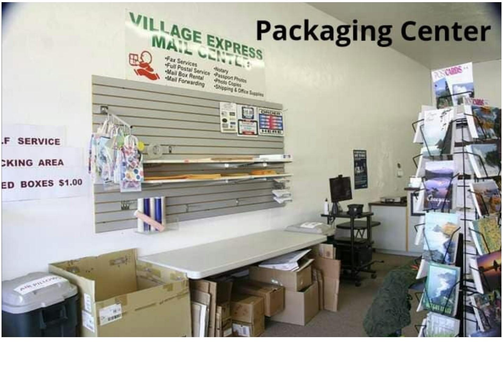Village Mail Express packaging center.jpg
