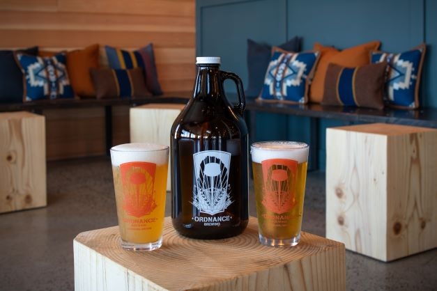Ordnance Brewing beer and growler fills