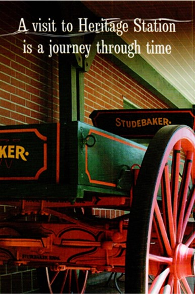 a visit to heritage station is a journey through time