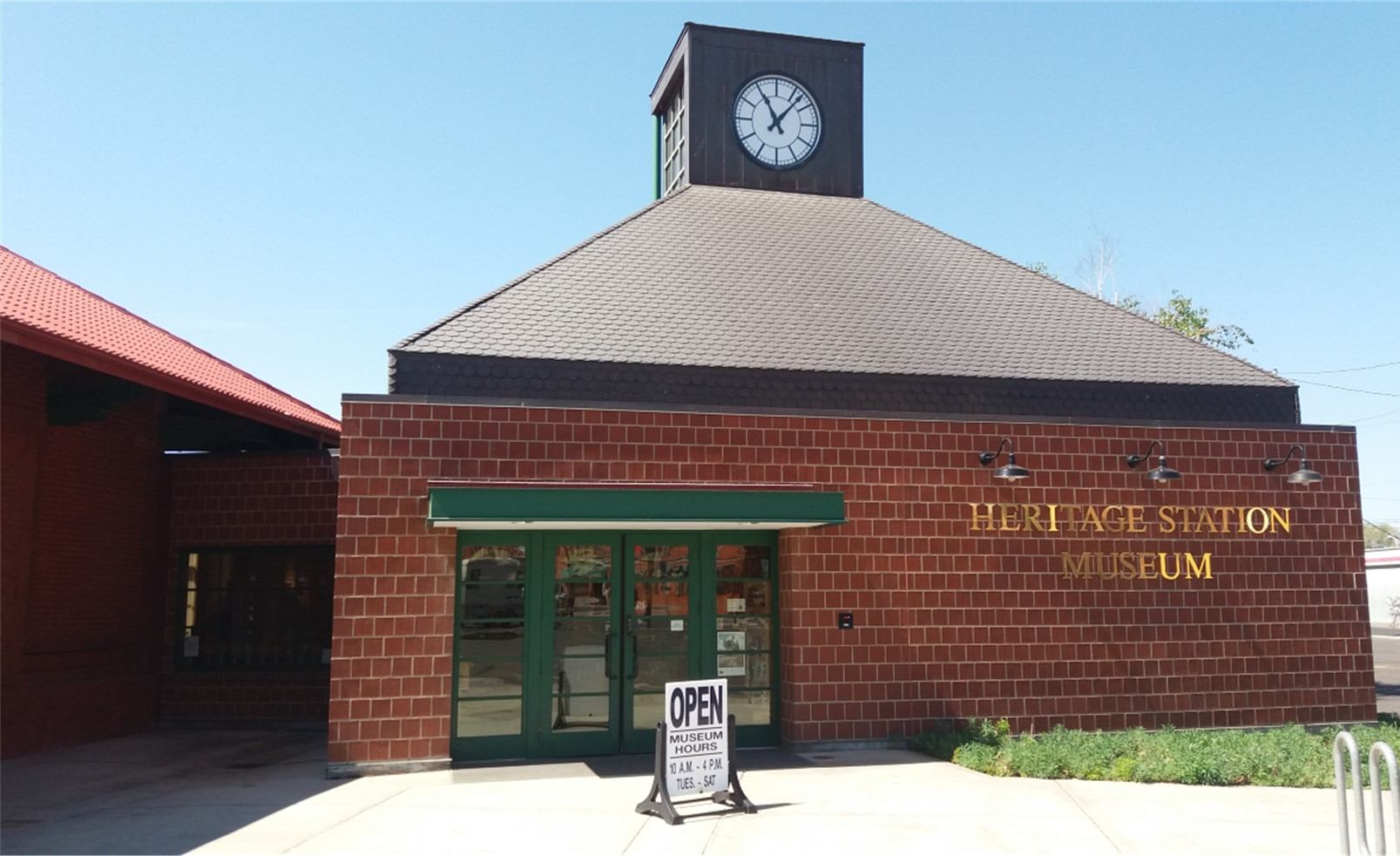 Front Entrance of the Heritage Station Museum