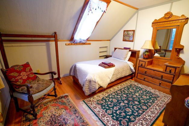 Room interior at Willow Creek Horse BnB