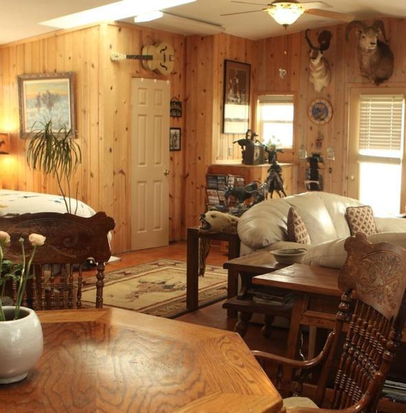 A Cowboy's Riverfront Retreat