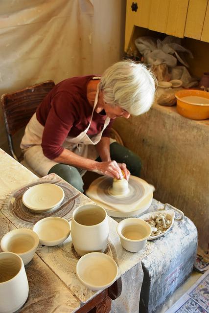 Pottery Studio on the Baker Artist Studio Tour