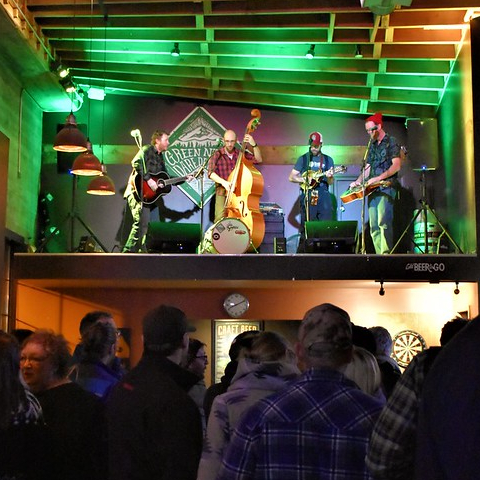 Great beer and one of Baker City's best live music venues
