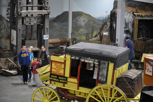 Baker County's pioneer and gold rush history
