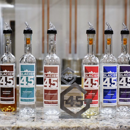 A full line of hand crafted spirits