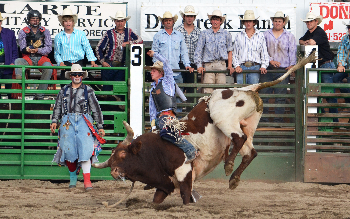Great rodeo action at the Baker County Fair and Panhandle Rodeo