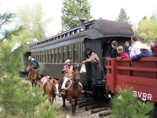 Sumpter Valley Railroad Train Robberies