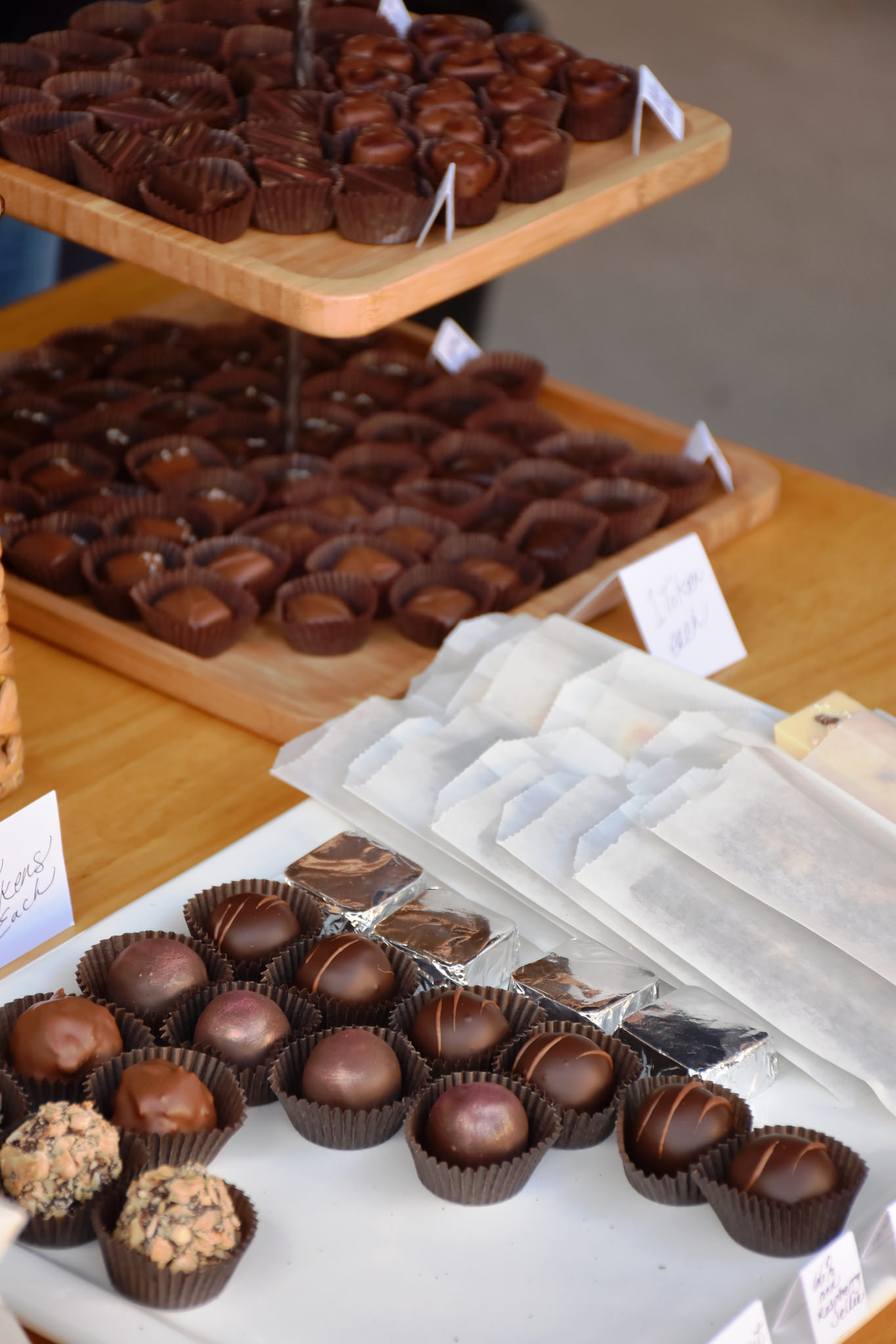 Hand Crafted Chocolates at Peterson's Gallery and Chocolatier