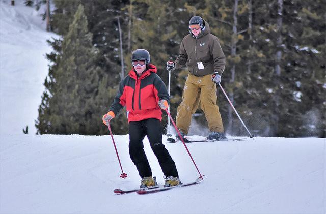 Skiing at Anthony Lakes Mountain Resort