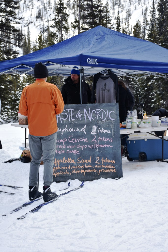 Snacking along the Nordic trails during Taste Nordic