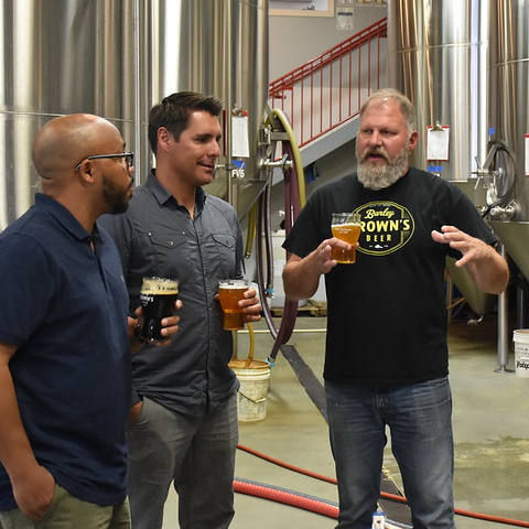 Touring the Barley Browns tap House with Master Brewer Tyler Brown