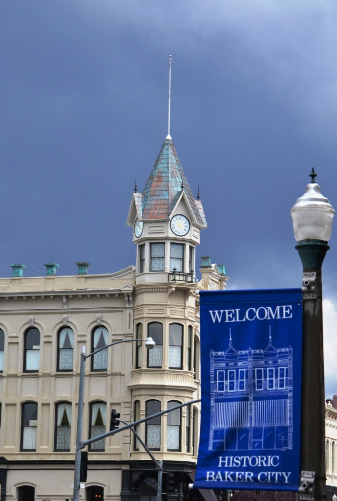 The iconic Geiser Grand Hotel in downtown Baker City
