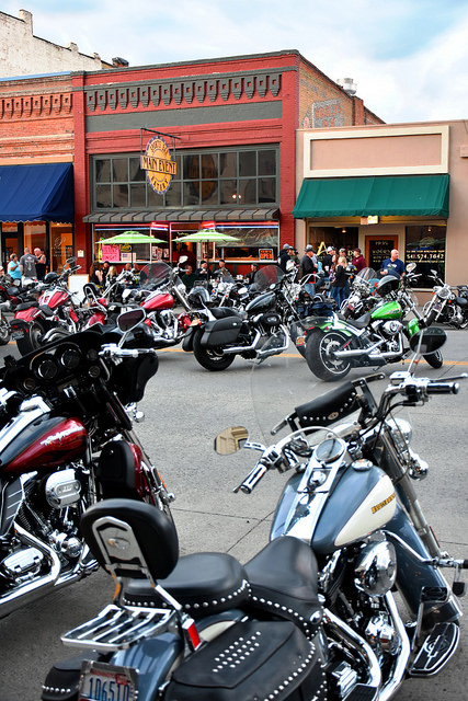 Hells canyon rally Downtown Baker City
