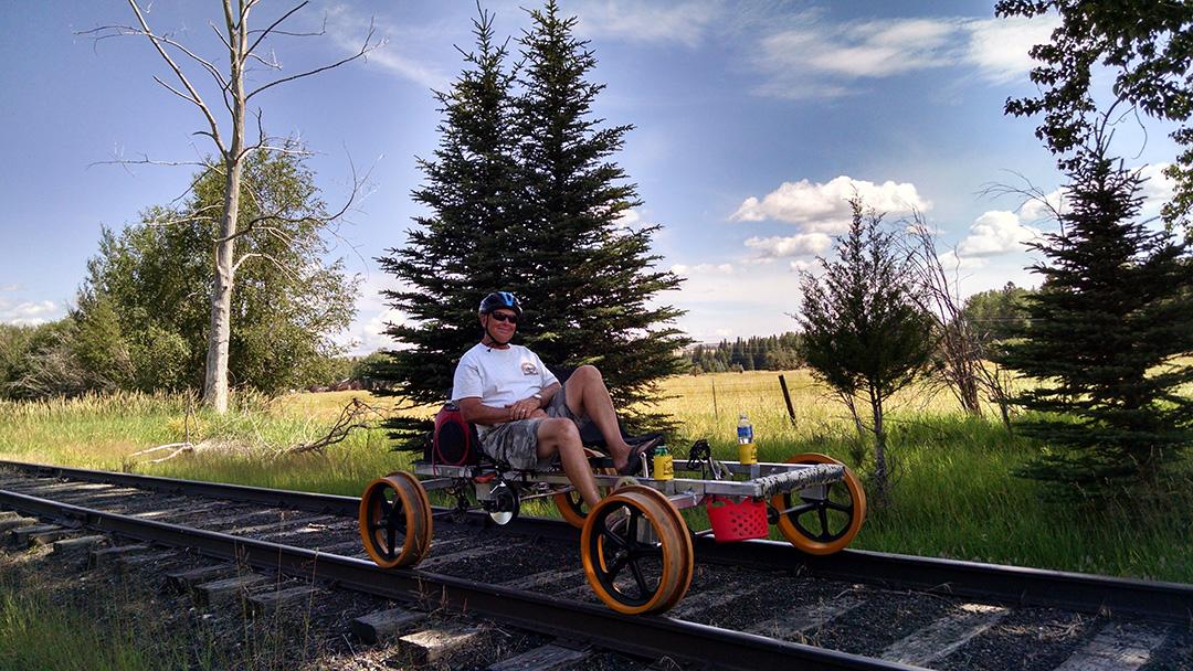 Railriding in Joseph OR