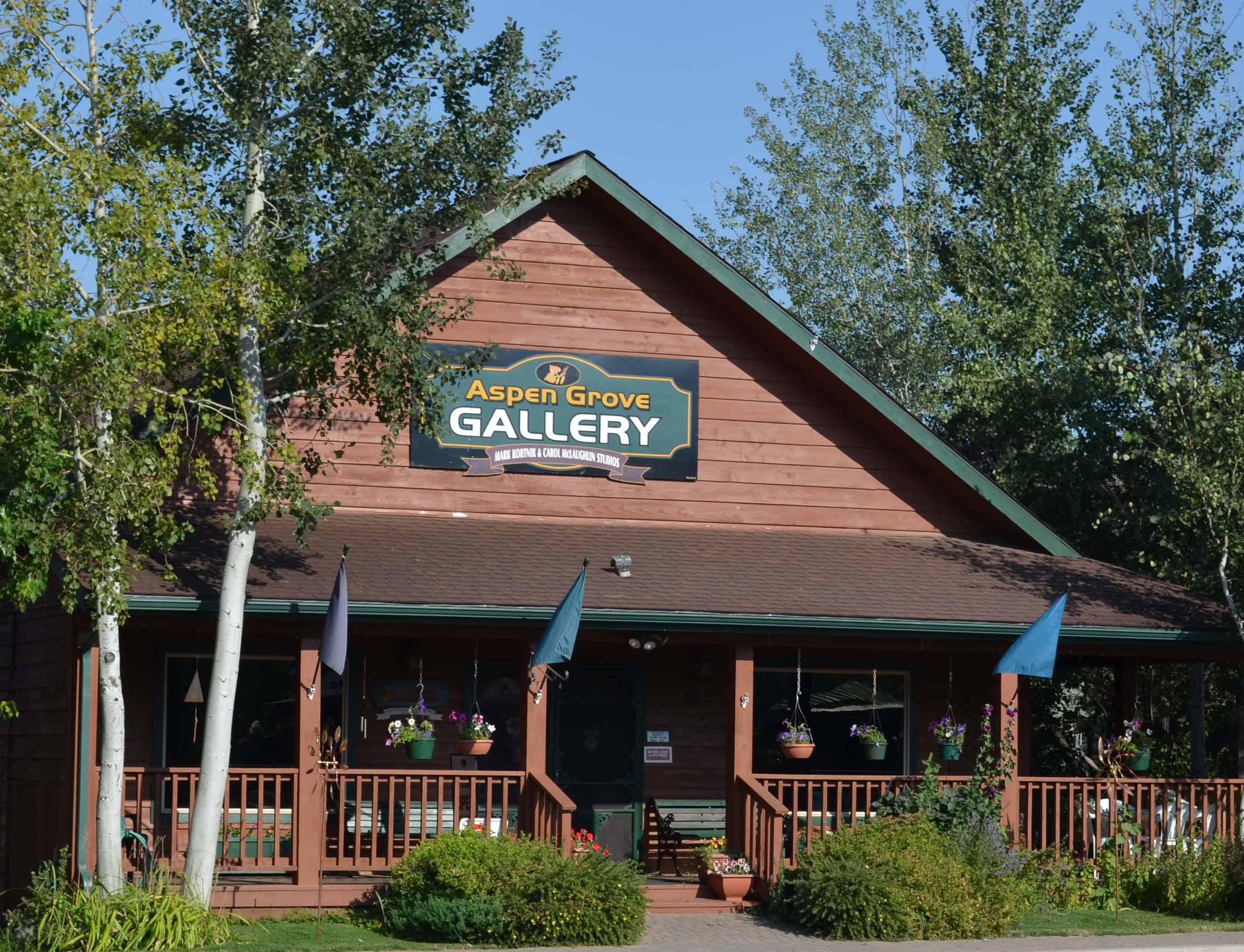 Aspen Grove Gallery in Joseph